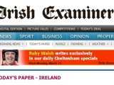 Irish Examiner, Letter to the Editor, 18 March 2013: Crazy to label farmed salmon as 'organic'