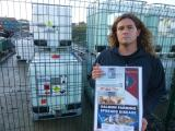 Outspoken opponent of fish-farming rallies support