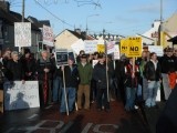 Sea of protest urges Coveney to prevent fish farmplans