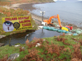 FISSTA Press Release,  7 Nov 2013: WILD ATLANTIC SALMON IN DANGER OF WIPEOUT AFTER FRESH WATER SUPPLIES ARE TAKEN FROM RIVER FOR TREATMENT OF DISEASE AT CLARE ISLAND SALMON FARM