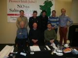 Press  Release: Consortium of groups meet in Galway to halt expansion plans of salmon farms by B.I.M.
