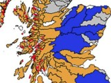 The Scotsman, 9 Oct: Map: Wild salmon dangerously scarce in Highland rivers